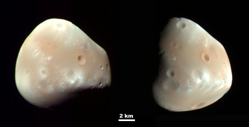 Deimos (Credit: NASA/JPL/University of Arizona