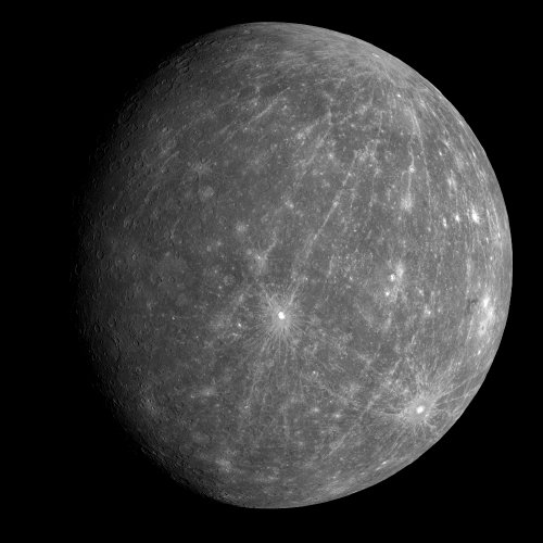 MESSENGER Mercury image