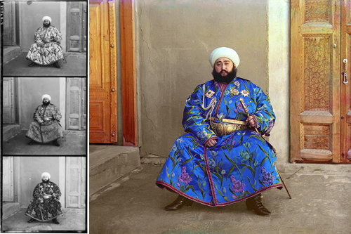 Emir of Bukhara (Prokudin-Gorskii collection)