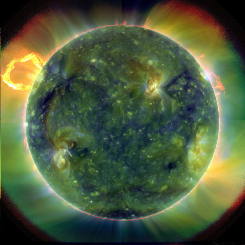 SDO image of the Sun in ultraviolet. Credit: NASA/Goddard/SDO AIA Team