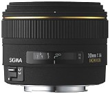 Sigma 30mm f/1.4 [Sigma Corporation]